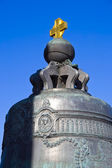 The largest Tsar Bell in Moscow Kremlin — Stock Photo