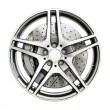 Car Wheel — Stock Photo #4755908