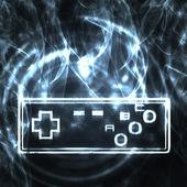 Illustration of the joystick — Stock Photo