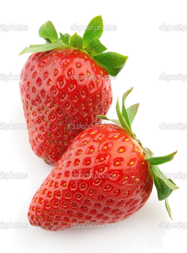 Ripe juicy strawberry — Stock Photo #3966810