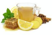 Ginger tea — Стоковое фото