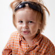 Portrait of cute little boy — Stock Photo #4170346