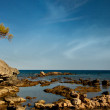 Stock Photo: Ruins of antic port Phaselis, Turkey