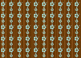 Vector tropical hibiscus background — Stock Vector