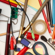 Stock Photo: Office supplies