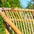 Chair in the garden — Stock Photo