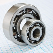 Two bearings — Foto Stock