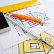 Development drawings — Stock Photo