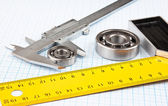 Callipers with bearing — Stock Photo