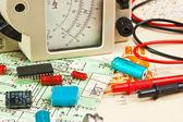 Elementów elektronicznych — Zdjęcie stockowe