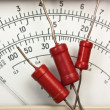 Old analog multimeter — Stock Photo