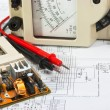Stock Photo: Old multimeter