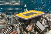 Kupie stare chipu elektronicznego — Zdjęcie stockowe
