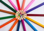 Colored pencils — Stok fotoğraf