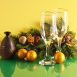 Glasses of wine — Stockfoto
