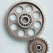 Gears and bearings - Foto Stock