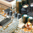 Electronic components - Foto Stock