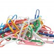 Pile of paperclips - Foto Stock