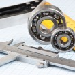 Callipers with bearing - Stock Photo