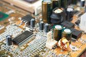Elektronische componenten — Stockfoto