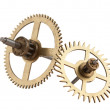 Stock Photo: Clockwork gears