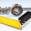 Callipers with bearing - Foto Stock