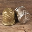 Stock Photo: Two thimble