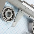 Calliper and bearing — Stock Photo #5164280