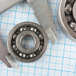 Calliper and bearing — Stock Photo #5164283