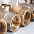 Water inlet valve - Stockfoto