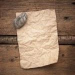 Scrap of paper — Stock Photo