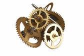 Clockwork gears — Stockfoto