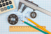 Tekniska verktyg — Stockfoto