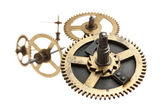 Clockwork gears — Stock Photo
