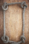 Frame of rope — Stock Photo