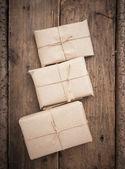 杭の包み — ストック写真