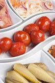 Salade van ingemaakte groenten — Stockfoto