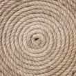 Twisted hemp rope — Stock Photo