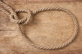 Lasso rope — Stock Photo