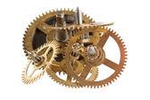Engrenagens de um relógio — Foto Stock