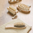 Objects for taking bath — Stock Photo