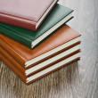 Five notebooks — Stock Photo