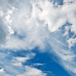 Heaven with clouds — Stock Photo