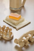 Set of bathing articles — Stock Photo