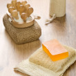 Collection of bath accessories — Stock Photo #5073567