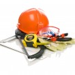 Collection of building tools — Stock Photo #5077017