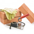 Stock Photo: Construction supplies