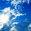 Clouds and sun — Stock Photo #5077788