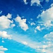 Stock Photo: Contrast blue sky