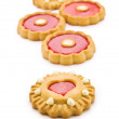 Royalty-Free Stock Photo: Five cookies isolated